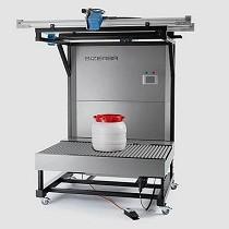 Sistema de medición volumétrica y de pesaje
