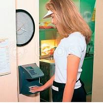 Lector biométrico de mano para presencias