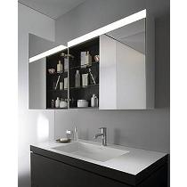 Muebles de espejo para baño