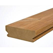 Tarimas de madera maciza termotratadas