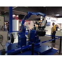 Robot de seis ejes para la soldadura de piezas