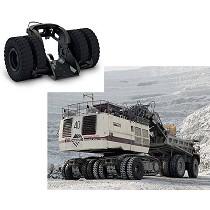 Sistema para desplazamiento de excavadoras