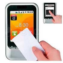Terminales IP de tarjeta, pantalla táctil y teclas