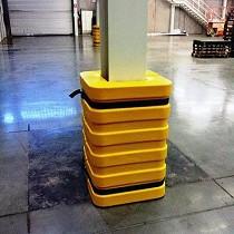 Protección de columnas en industrias y almacenes