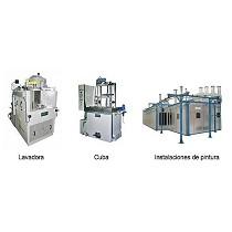 Máquinas para tratamientos superficiales dentro de la industria