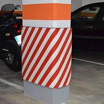 Protección para paredes en bobina ingnífuga