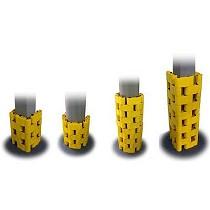 Protección de columnas modular