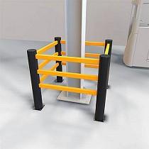 Protectores para columnas flexibles