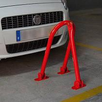 Barreras para parking guardaplazas con candado