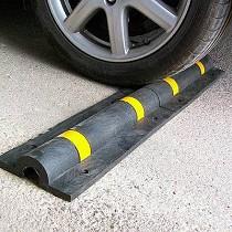 Topes para rueda en garajes