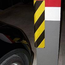 Protector de golpes para parking