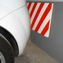 Protecciones para paredes de garajes
