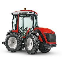Tractor articulado reversible