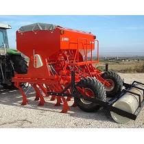 Sembradoras mecánicas de siembra directa de reja arrastradas