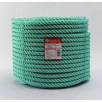Cuerda de plástico verde