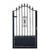 Puerta de hierro peatonal