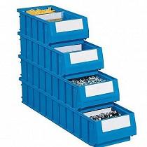 Cajas de plástico para estanterías