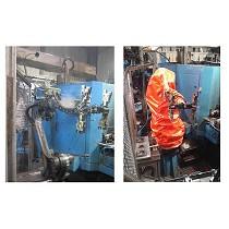 Fundas para robots en procesos de mecanizado