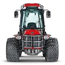 Tractor compacto reversible