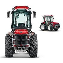 Tractor articulado compacto reversible