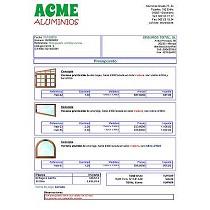 Software para carpinterías de aluminio y PVC