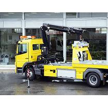 Grúa para rescate vehículos 13,25 t