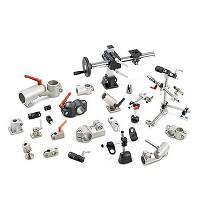 Actuadores lineales, soportes y conectores