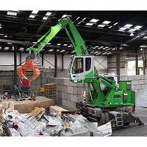 Manipuladoras de material reciclable