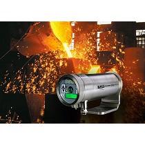 Termómetros infrarrojos de gran resistencia para acerías