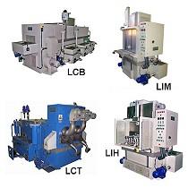 Máquinas automáticas para piezas industriales