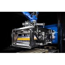 Sistema para la manipulación con robots de botellas de bebidas