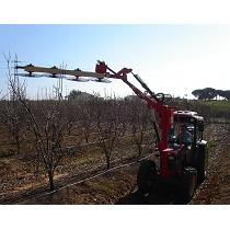 Prepodadora para árboles frutales y arbustos