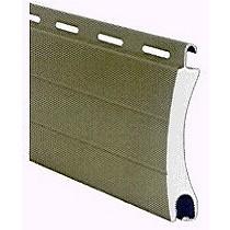 Persiana enrollable fabricada con perfiles tubulares de aluminio