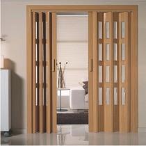 Puertas plegables PVC vidriera