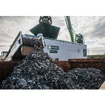 Planta de reciclaje de aluminio