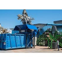 Planta de reciclaje de chatarra metálica