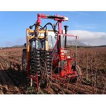 Prepodadora automática para viñas