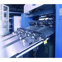 Impresora offset de pliegos de gran formato