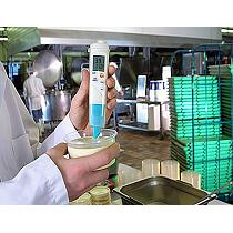 Medidor compacto de pH/°C