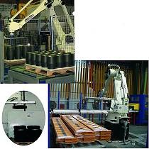 Robot de paletizado o apilado