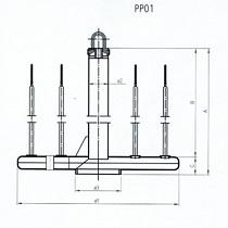 Portamateriales para bobinas