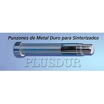 Punzones de metal duro para sinterizados