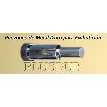 Punzones de metal duro para embutición