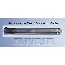 Punzones de metal duro para corte