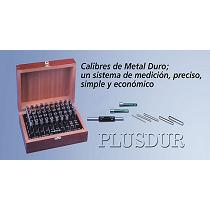 Calibres de metal duro