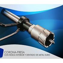 Corona-fresa