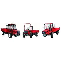 Tractores con plataforma de carga
