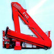 Hydraulics crane