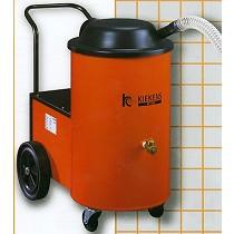 Aspirador de viruta y líquidos, filtraje
