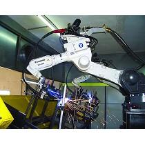 Robot de soldadura para aluminio